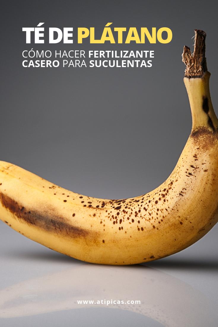 Cómo hacer té de plátano