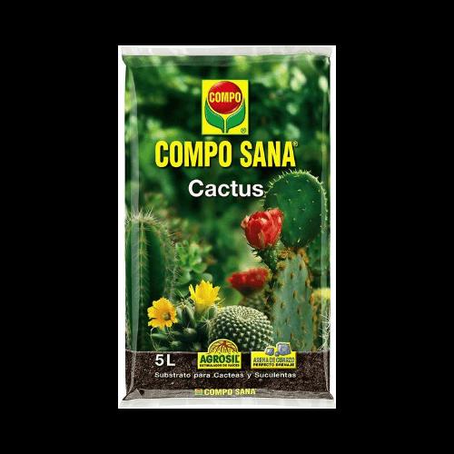Sustrato Compo Sana para cactus